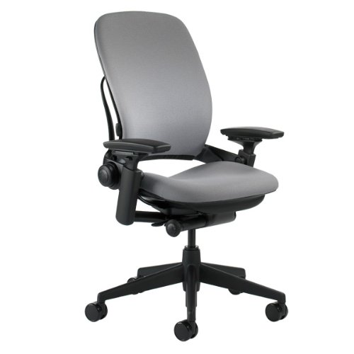 Steelcase Leap Gray Fabric Chair