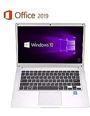 【Microsoft Office 2019搭載】パソコン初心者向け 学生向け【Win 10搭載】高性能CPUインテルAtom x5 Z8350 1.5GHz/メモリー:4GB/SSD:64GB/14.1インチ/モバイルサイズ コンパクトWebカメラ/無線搭載/軽量薄型新品ノートパソコン 新品外付けハードディスク:320GB無料進呈