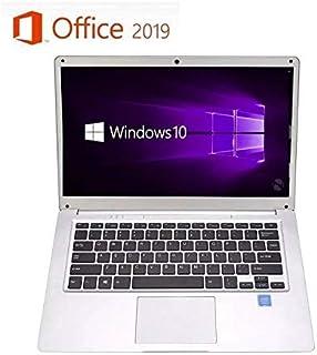 【Microsoft Office 2019搭載】パソコン初心者向け 学生向け【Win 10搭載】高性能CPUインテルAtom x5 Z8350 1.5GHz/メモリー:4GB/SSD:64GB/14.1インチ/モバイルサイズ コンパクトWebカメラ/無線搭載/軽量薄型新品ノートパソコン 新品外付けハードディスク:320GB無料進呈 (SSD:64GB)