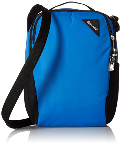 Pacsafe Unisex-Erwachsene Vibe 200 Anti-theft Compact Travel Bag Umhängetasche, blau, Einheitsgröße