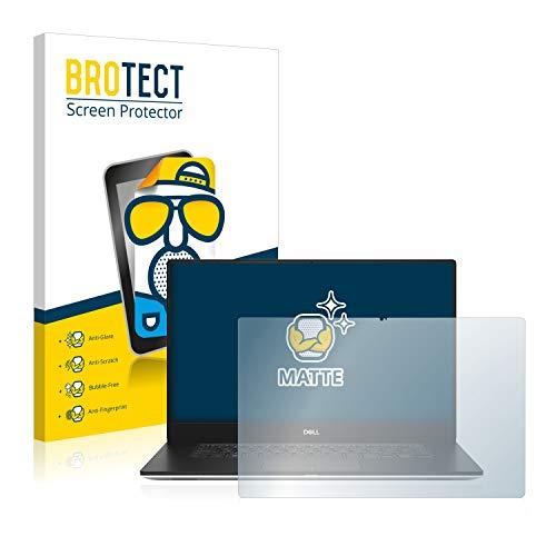 BROTECT Entspiegelungs-Schutzfolie kompatibel mit Dell XPS 15 7590 4K Bildschirmschutz-Folie Matt, Anti-Reflex, Anti-Fingerprint