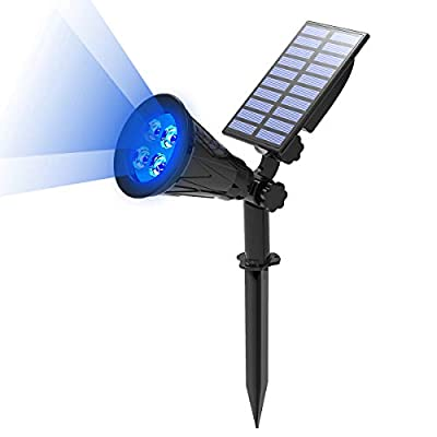 T-SUN Solar 4LED Spotlights Landscape Light