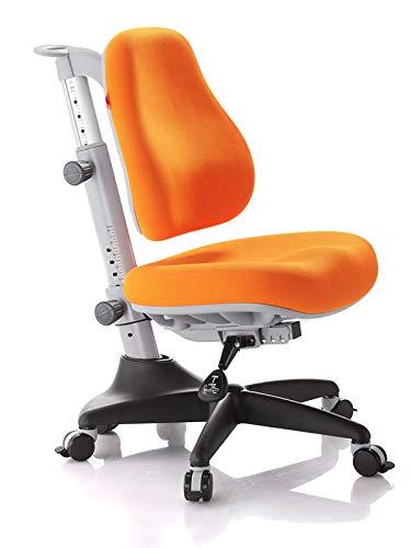 Ergodesk COMF-PRO Match Stuhl Bürostuhl Schreibtischstuhl Höhenverstellbarer Ergonomisches Design (orange)