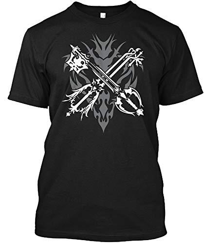 SMURAB PSP PS3 Kingdom Hearts キングダムハーツ ソラ メンズ/レディース Tシャツ/夏服 スポーツ Tシャツ ブラック/半袖 Tシャ
