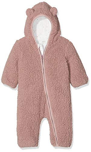 NAME IT Baby-Mädchen NBFMAUV Suit Schneeanzug, Rosa (Woodrose Woodrose), 50/56 (Herstellergröße: 50-56)