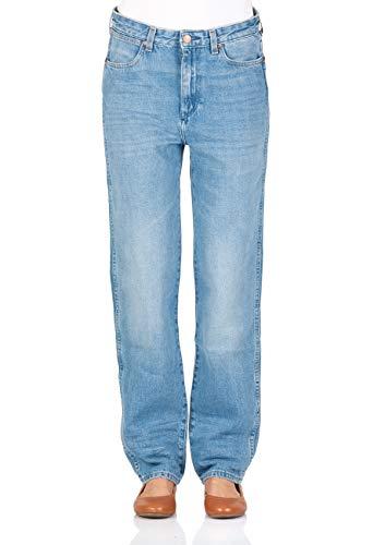 Wrangler dames jeans retro boyfriend - blauw - B&Y Hot Shot