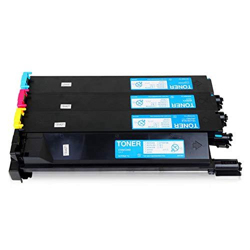 TN214 Toner Cartridge compatibele vervanging voor KONICA MINOLTA C200 C210 C7721 Series Printer, printkwaliteit is uitstekend, geen verschil dat size vier-kleur