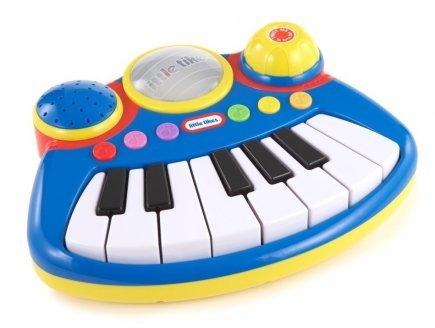 little tikes Clavier electronique Bleu poptunes big Rockers Instrument de Musique - Enfant