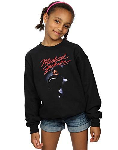 Absolute Cult Michael Jackson Niñas Hat Reveal Camisa De Entrenamiento