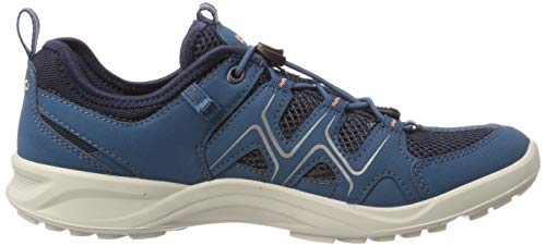 ECCO Women's Low Rise Hiking Shoes, Indian Teal Marine Muted Clay 51390