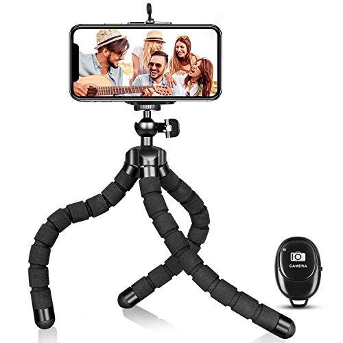 Phone Tripod, Portable Flexible Tripod Adjustable Cell Phone Tripod...