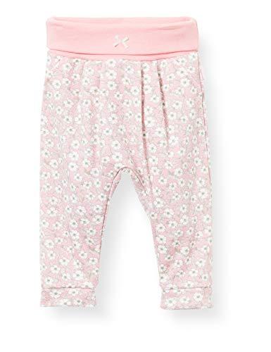 Sanetta Baby-Mädchen Hose aus Strickstoff rosa Freizeithose, Rose Blush, 68