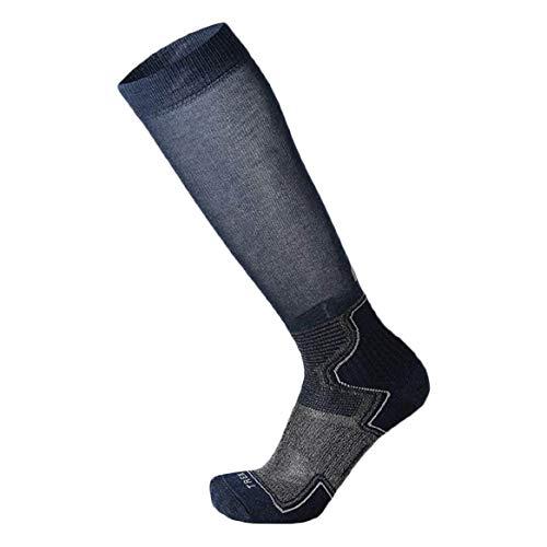 Mico – Chaussette de randonnée haute poids léger – Bleu – Taille S