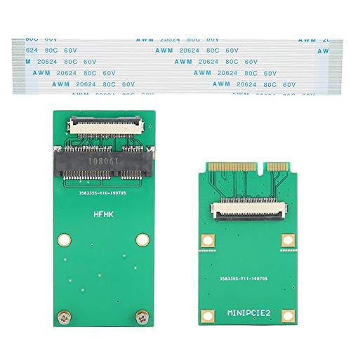 Draadloze kaart, netwerkkaart, mini PCIE WIFI draadloze kaart, groene ABS mSATA SSD SATA MINI PCIE SSD-verlengkabel