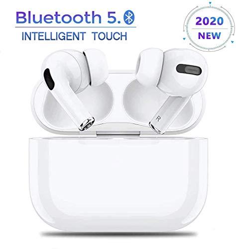Bluetooth Kopfhörer 5.0, Funk In-Ear-Ohrhörer, 3D-Stereo-Kopfhörer mit Geräuschunterdrückung, IPX7 wasserdichter Sport-Kopfhörer mit tragbarer Ladetasche,Für Android/iPhone/Samsung/AirPods Pro
