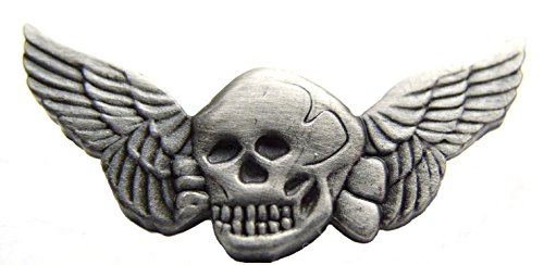 Death Wings Military Pewter 2' Lapel/Hat Pin