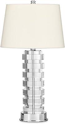DEI QI Stone & Beam - Lámpara de Escritorio de Mesa de Disco de ...