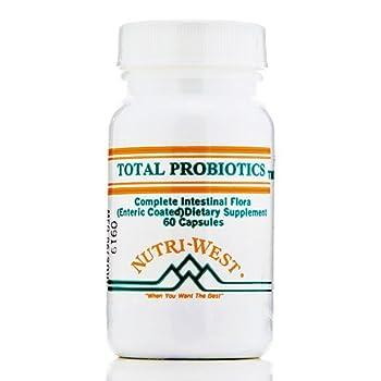 Total Probiotics - 60 Capsules by Nutri West
