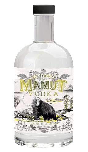 Destilados de primesisima calidad, con las mejores materias primas, sabor exquisito. Destilerías LIBER. Envío GRATIS 24h. (Vodka Mamut 100% ecologico 70cl)