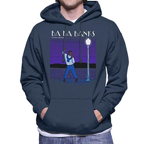 Fresh Prince of Bel Air La La Land Carlton Banks Mix Men's Hooded Sweatshirt