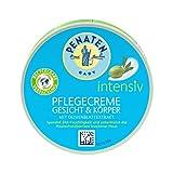 Penaten PENATEN Baby Intensiv Pflegecreme Gesicht & Körper, Babypflege Creme mit Olivenblattextrakt, Baby Feuchtigkeitscreme für 24h Feuchtigkeit (1 x 100 ml), 100 ml