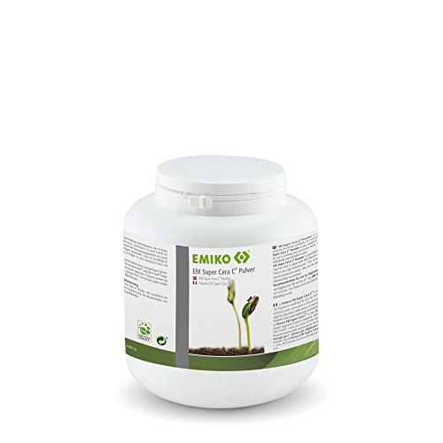 EM Super Cera C® Pulver 1kg mit Effektiven Mikroorganismen zur Bodenverbesserung oder zum Renovieren