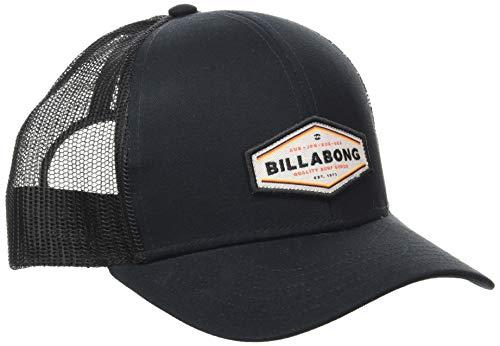 BILLABONG Walled Trucker Gorro de Punto, Negro (Black 19), One Size (Tamaño del Fabricante:U) para Mujer