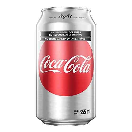 Coca-Cola Light, Pack de 12 - 355 ml/lata
