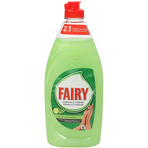 FAIRY lavavajillas mano concentrado aloe vera botella 500 ml