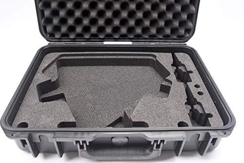 Transportkoffer 2x Shure antennes UA874/UA870 2x uniklemmen en K&M stereobar, Outdoor Case, schuimrubberen inlay, transportbox