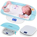 Dr Trust USA Digital Baby Weighing Scale Grow Buddy Infant, Toddler and Adult Body Weight Machine Upto 150kg with Baby Tray (Blue)