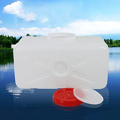 WWJQ Depósito De Agua Grande de Hogar, para Exteriores o Camping jardín Granja, Bidón Plástico Portátil con Grifo, Seguro y No Tóxico, Calidad Alimentaria