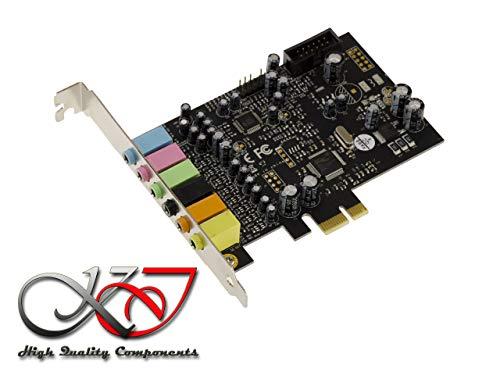 KALEA INFORMATIQUE Carte Contrôleur PCIe (PCI Express) - Son 7.1 CANAUX - CHIPSET CMEDIA Oxygen CM8828 / CM9882A