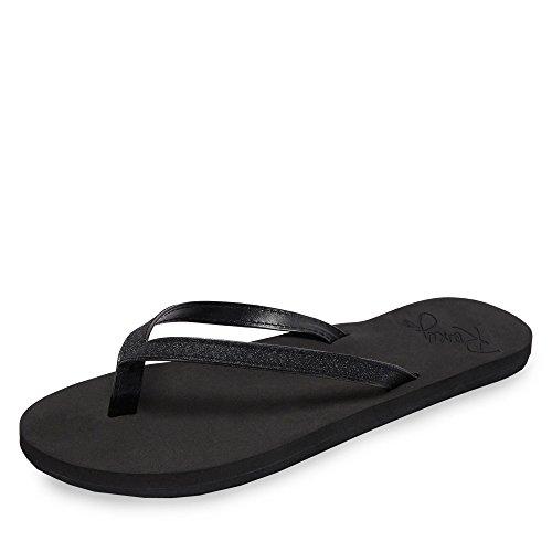 Roxy Napili II J SNDL, Zapatos de Playa y Piscina Mujer, Negro (Negro/(Bk3 Black 3) Bk3), 38 EU