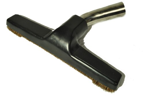 Generic Floor Brush, Replacment for Eureka, Metal Curved Swivel Elbow, Horsehair bristles, 1 1/4' Fitting, 10' Wide