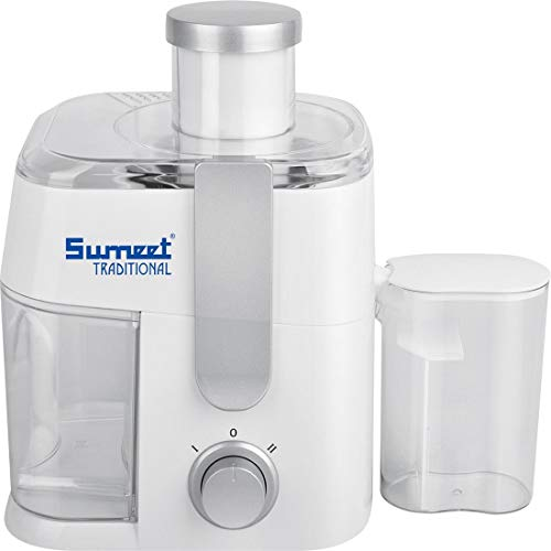 Sumeet Juice King 400-Watt Centrifugal Juicer (White)