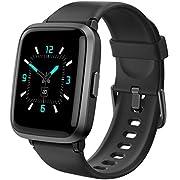 AIKELA Smartwatch, Fitnessuhr mit Pulsoximeter ,Fitness Tracker mit Pulsuhr,Blutdruck Messgeräte,Schrittzähler, Fitness Uhr 5ATM Wasserdicht ,Smart Watch Damen Herren für Android iOS