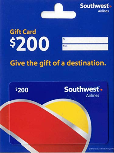 Southwest Airlines Gift Card $200
