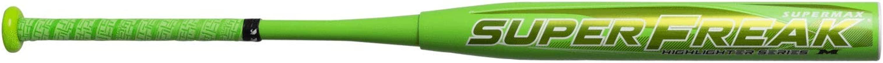 Miken 2019 Limited Edition Superfreak Supermax Highlighter USSSA Slowpitch Softball Bat (MHS14U)