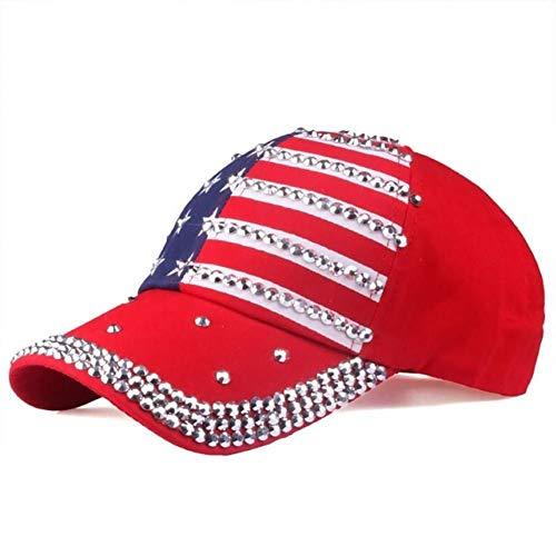 Baseball Kappe Baseball Cap Mode weiblichen Strass Hut weiblichen baseballmütze Logo Bling Diamant Hut mädchen Rebound Cap