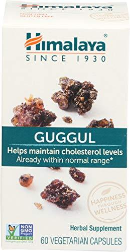 Himalaya, Guggul (Myrrhe indienne), 60 Capsules végétales, sans gluten