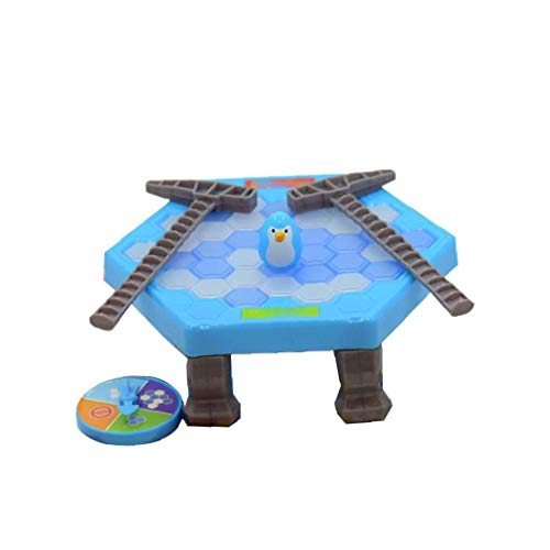 Kreative Puzzle-Tabellen-Spiel Speichern Icebreaker Schlag Penguin Toy Klopfen Ice Cube-Spielzeug-Kind-Spielzeug-Eltern-Kind Interaktives Spiel 1Set Fat Penguin Art für Convenience