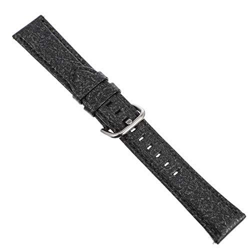 Baluue Correa de Reloj de Cuero Vintage Correa de Repuesto para Hombres para Mujeres Compatible con Galaxy Watch Active 2 (20Mm)