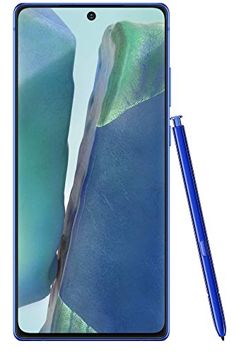 Samsung Galaxy Note 20 (Mystic Blue, 8GB RAM, 256GB Storage) with No Cost EMI/Additional Exchange Offers