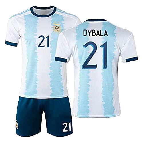 DSechcrsL Camiseta De Fútbol, Camiseta Retro De Argentina, Camiseta De Local De...