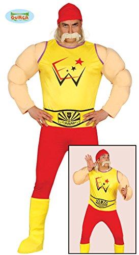 Wrestling Ringer Kostüm für Herren Wrestler Herrenkostüm Ringkämpfer Kämpfer Gr. M - L, Größe:M