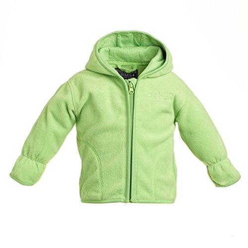BMS Baby Fleece Jacke Limette Gr. 68