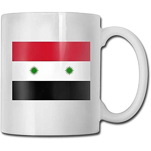 Syrische Flagge Teetassen Kühle keramische Kaffee-Tee-Schalen