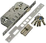 Tesa Assa Abloy, R100B566C, Cerradura Monopunto de Seguridad para Puertas de Madera