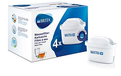 Brita - Cartuchos de filtro MaxtraPlus, blanco, Pack 4